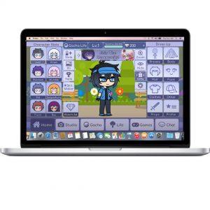 Gacha Life pour ordinateur ou ordinateur portable