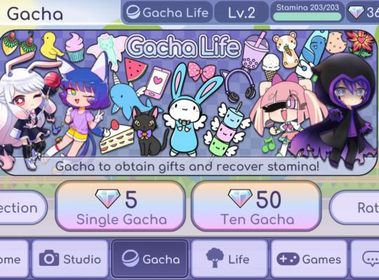 Gemmes Gratuites avec Gacha Life